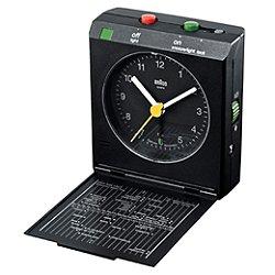 Braun Reflex Travel Alarm Clock BN-C005 (Black) - OPEN BOX