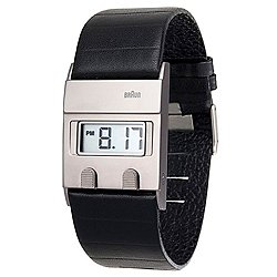 Braun Men's Square Digital Watch BN-76SLBKG