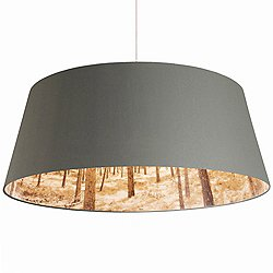 Shady Tree Extra Large Pendant Light (Grey) - OPEN BOX RETURN