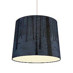 Shady Tree Forest Small Pendant Light