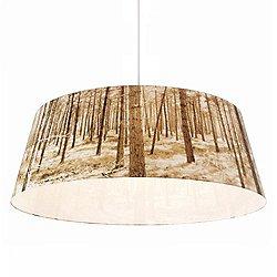 Shady Tree Forest Large Pendant Light