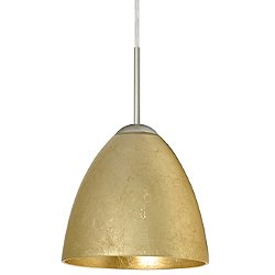 Vila Pendant (Gold Foil/Satin Nickel/Flat) - OPEN BOX RETURN