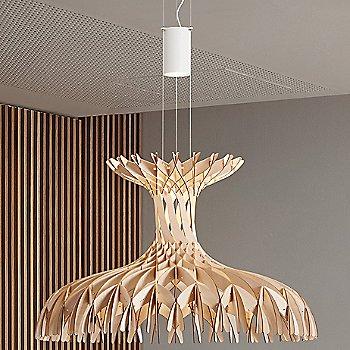 Medium size / Matte White canopy finish