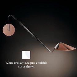 Non La Swingarm Wall Sconce (White /0-10V Dim) - OPEN BOX