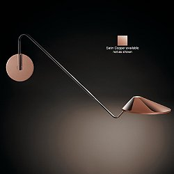 Non La Swingarm Wall Sconce (Copper/0-10V Dimmer) - OPEN BOX