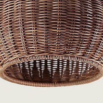 Brown shade detail