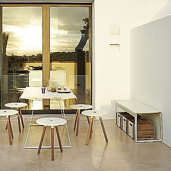 Copenhagen Bench with Area Tablestool