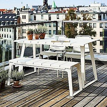 Copenhagen Bench with Copenhagen Table
