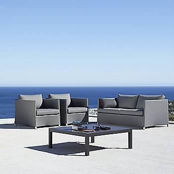Shown in Grey, 2 Seater
