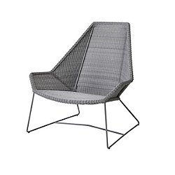 Breeze Highback Chair (Light Grey) - OPEN BOX RETURN