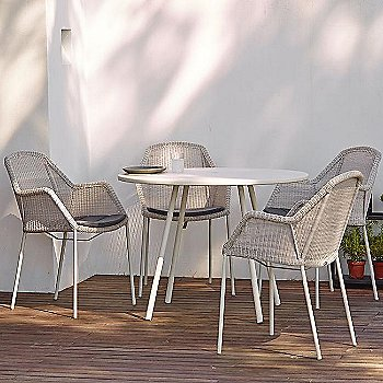 Breeze Stackable Armchair / in use