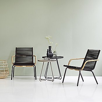 Brown pictured with the On the Move Side Tables and Sweep Round Rattan Basket (sold separately)