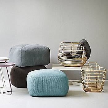 Pictured with the Sweep Round Rattan Basket, Divine Footstools and On the Move Side Tables (sold separately)