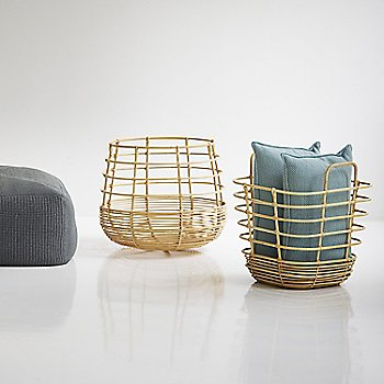 Pictured with the Sweep Round Rattan Basket and Divine Footstool (sold separately)