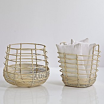 Pictured with the Sweep Round Rattan Basket (sold separately)