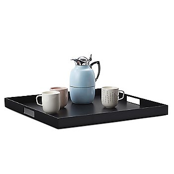 Square Club Tray, in use