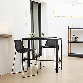 Black pictured with the Breeze Bar Chairs (sold separately)