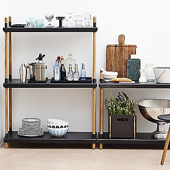 Black pictured with the Area Tablestool and Box Storage Box (sold separately)
