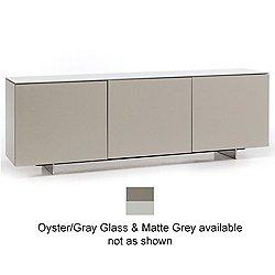 Futura 3-Door Sideboard (Oyster/Gray/Gray) - OPEN BOX RETURN