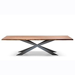 Spyder Wood Dining Table, 79-In.