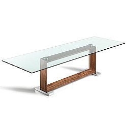Monaco Wide Dining Table, 94-Inch