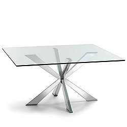 Spyder Square Dining Table, 59-Inch