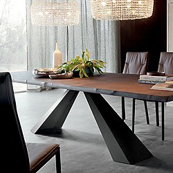 Eliot Wood Dining Table, 79-Inch