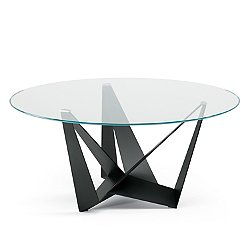 Skorpio Round Glass Table