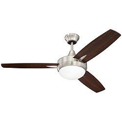 Targas 48 Inch LED Ceiling Fan (Polished Nickel) - OPEN BOX