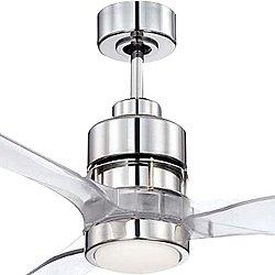 Sonnet 52 Inch Ceiling Fan (Chrome) - OPEN BOX RETURN