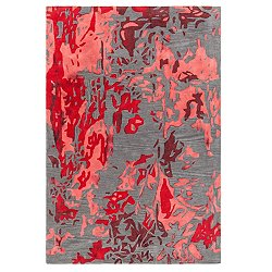 Brynn Rug(Red/Charcoal/7 Ft. 9 In. X 10 Ft. 6 In.)-OPEN BOX