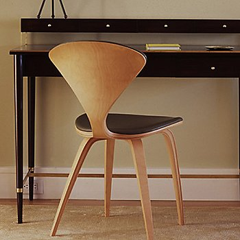 Cherner Seat and Back Upholstered Side Chair / in use