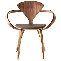 Cherner Armchair with Seat Pad