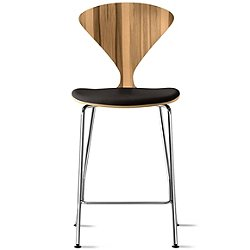 Cherner Metal Base Stool with Seat Pad