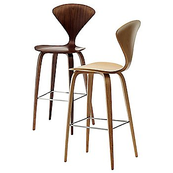 Cherner One Piece Upholstered Stool