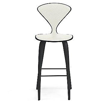 Classic Ebony (Ebonized Walnut) finish / Upholstery Selection Divina 106
