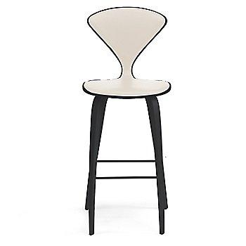 Classic Ebony (Ebonized Walnut) finish / Upholstery Selection Vincenza Leather VZ-2122