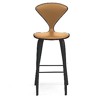 Classic Ebony (Ebonized Walnut) finish / Upholstery Selection Vincenza Leather VZ-2125