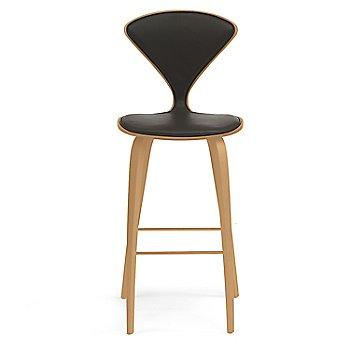 Red Gum finish / Upholstery Selection Vincenza Leather VZ-BLCK