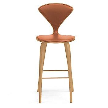 Red Gum finish / Upholstery Selection Sabrina Leather Robotic Orange