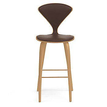 Red Gum finish / Upholstery Selection Sabrina Leather Coffee Bean