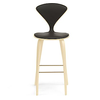 Natural Beech finish / Upholstery Selection Vincenza Leather VZ-BLCK