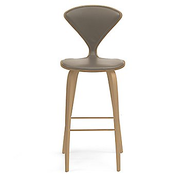 White Oak Rift Cut finish / Upholstery Selection Vincenza Leather VZ-2101