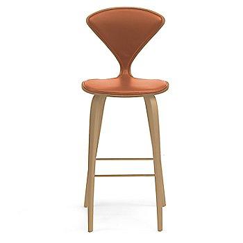 White Oak Rift Cut finish / Upholstery Selection Sabrina Leather Robotic Orange