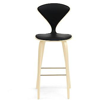 Natural Beech finish / Upholstery Selection Sabrina Leather Black
