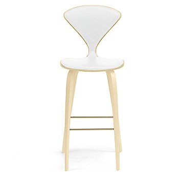 Natural Beech finish / Upholstery Selection Sabrina Leather White