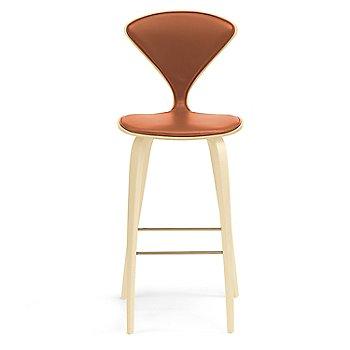 Natural Beech finish / Upholstery Selection Sabrina Leather Robotic Orange