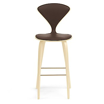 Natural Beech finish / Upholstery Selection Sabrina Leather Coffee Bean