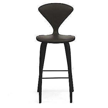 Ebony Lacquer finish / Upholstery Selection Vincenza Leather VZ-BLCK