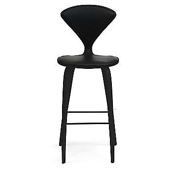 Ebony Lacquer finish / Upholstery Selection Sabrina Leather Black